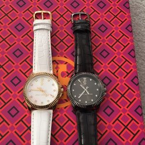 Juicy Couture Leather Watches 2 Total